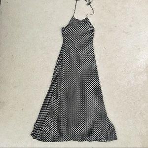 Forever 21 halter tie maxi dress
